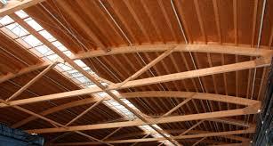 Designs For Glued Trusses Glue Laminated Wood Beam Rectangular Lattice Freespan