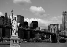 Fototapete Schwarz Weiß New York Fototapete New York City