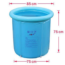 Blue Bathtub aliexpress buy happy life portable plastic bathtub blue 6459 by guidejewelry.us