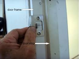 to fix or replace a broken door frame