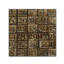 grungy number blocks by marcee duggar ready to hang canvas wall art on number canvas wall art with grungy number blocks by marcee duggar ready to hang canvas wall art