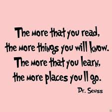 The More That You Read Wall Decal Dr Seuss Quotes For Kids VWAQ40 New Reading Quotes For Kids