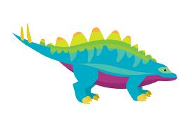 Rainbow Colored Dinosaur Svg Cut File By Creative Fabrica Crafts Creative Fabrica