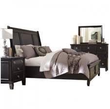 Greensburg Black Bedroom Furniture Collection ...