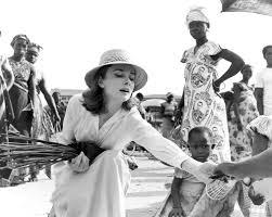 Audrey Belgian Congo 1959 Audrey Hepburn Pinterest