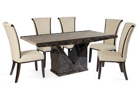 table and chairs png. tenore medium marble dining table with 4 alpine cream leather chairs and png