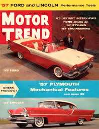 The 1st is this beautiful sports car of 1959 chevrolet. Motor Trend 1956 Nov Bugatti 46 55 57 C 57 Fords Studebaker Lincoln 1950 1959 Jim S Mega Magazines