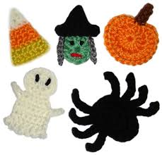 Halloween Crochet Patterns New Crochet Spot Blog Archive Crochet Pattern Halloween Appliques