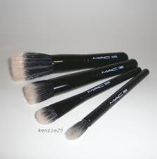 mac cosmetics perfectly plush mineralize brush set 130se 187se 286se 282se ub ebay