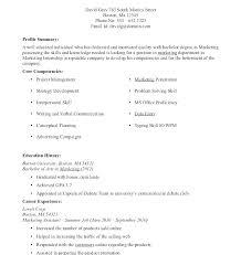 Undergraduate Resume Template Undergraduate Resume Template