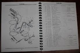 motorcycle parts manuals