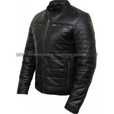 mens black puffer padded motorcycle leather jacket 800x800 jpg