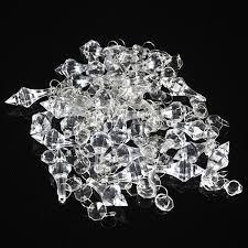 wish 30 acrylic crystal clear bead garland hanging chandelier decor wedding supplies