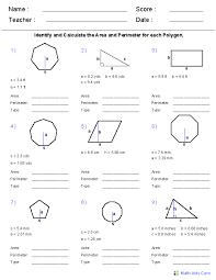 Area Vs Perimeter Worksheet Worksheets for all | Download and ...