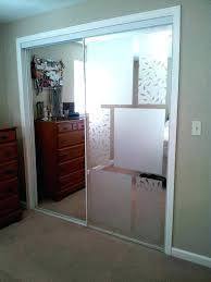 smoked glass sliding wardrobe doors frosted glass sliding closet doors used adhesive free window frosting to cover up mirrored sliding closet frosted glass