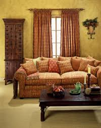 Orange Curtains For Living Room Orange And Brown Living Room Curtains Yes Yes Go