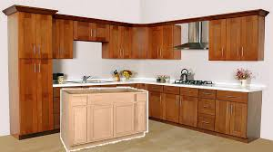 how to stain unfinished cabinets from