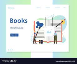Graphic Design Process Book Template Books Website Landing Page Design Template