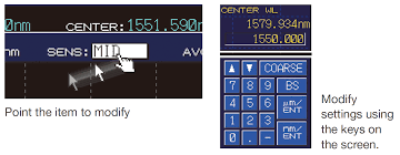 Aq6374 Wide Range Optical Spectrum Analyzer 350 1750 Nm