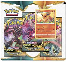 Pokemon Trading Card Game Sword Shield Darkness Ablaze Flareon Special  Edition 3 Booster Packs, Promo Coin Pokemon USA - ToyWiz