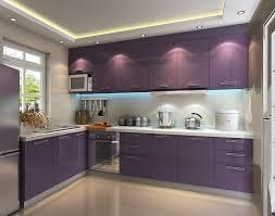 High Gloss Kitchen Doors Fascinating Purple Kitchen Ideas With High Gloss Kitchen Cabinets