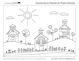 Small Picture First Day Of Kindergarten Coloring Page Es Coloring Pages