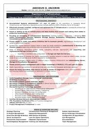 Resumes Best Legacy Systems Administrator Resume Example Livecareer