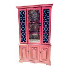 china cabinets for sale cheap. Plain China Vintage Painted China Cabinet Throughout Cabinets For Sale Cheap N