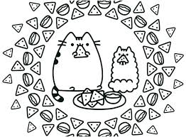 Halloween Cat Coloring Pages For Adults Fat Printable Mask Page Col