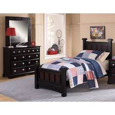 teen bedroom furniture. Winchester 5-Piece Twin Bedroom Set - Black And Burnished Merlot Teen Furniture A