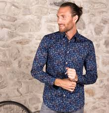 Crazy Shirts Models Classic Original Printed Pattern Shirts Coton Doux Paris