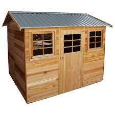 cedar garden sheds stilla hazel 9 x
