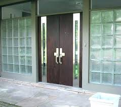 modern entry door modern entry doors for all glass entry door black stained wooden single
