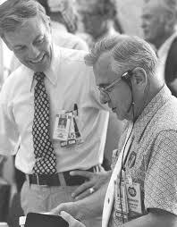 NASA - Former Kennedy Space Center Director Lee Scherer Dies at 91