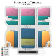 Al Hirschfeld Seating Chart Al Hirschfeld Theatre Concert Tickets And Seating View