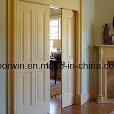 american house decoration all wood doors white color door interior room kitchen entry door