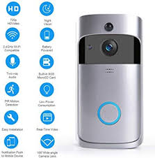 Home & Garden <b>Doorbells</b> Wireless <b>Smart WiFi DoorBell</b> IR Video ...