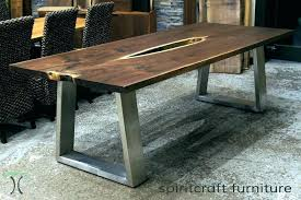 full size of reclaimed wood dining table with metal legs uk wooden iron kitchen astonishing awesome
