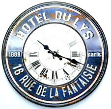 large vintage wall clock diameter retro clocks for old fashioned uk