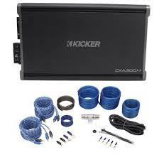 Kicker Cxa300 1 Red Light Kicker 43cxa3004 Cxa300 4 300 Watt Rms 4 Ch Car Stereo