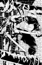 The Punisher Close Up Inked By