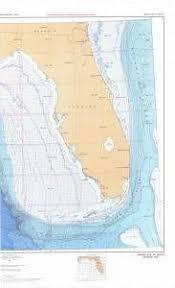 Bathymetric Chart Br 6pt2 Eastern Gulf Of Mexico 2