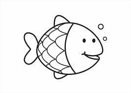 Small Picture Fish Coloring Fish Coloring Pages For Preschoolers Tryonshortscom