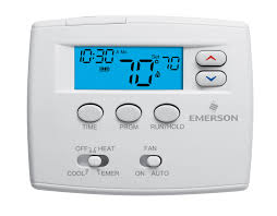 "white rodgersâ""¢ programmable universal staging thermostats white rodgers 1f82 0261 blue 2 programmable heat pump thermostat"
