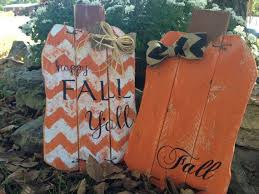 pallet projects for fall. fall orange/chevron pallet pumpkin by kskountrykorner on etsy projects for fall