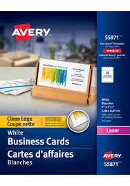 Avery Template 88220 Avery Clean Edge Business Cards Tigresspr Com