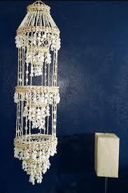 large seashell plant hanger shell chandelier capiz wind chimes how to make
