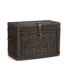 wicker storage chest. Unique Wicker The Basket Lady Wicker Storage Trunk  Chest Medium  24u0026quot L For Chest E