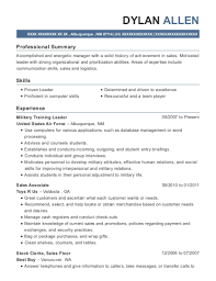 Resume Examples For Military Simple Best Military Training Leader Resumes ResumeHelp