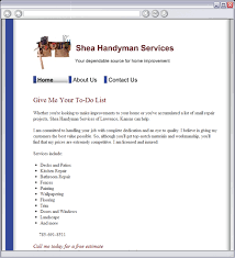 handyman estimating software free shea handyman services home
